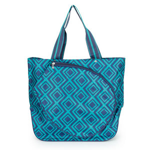 ALL FOR COLOR GEMSTONE TENNIS TOTE