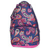 Vivid Paisley Tennis Backpack by ALL FOR COLOR