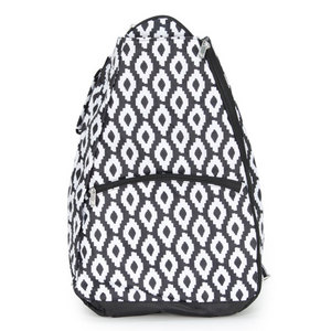 ALL FOR COLOR UPTOWN CHARM TENNIS BACKPACK