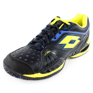 LOTTO MENS RAPTOR ULTRA IV SHOES GRAPHTE BL/GN