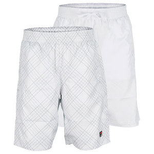 FILA BOYS DOUBLE REVERSIBLE TENNIS SHORT WHIT