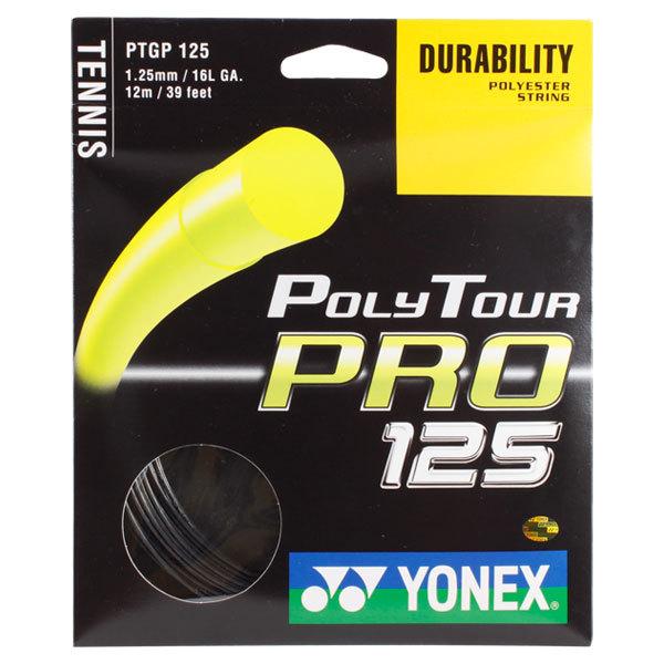 Poly Tour Pro 125 16l Graphite Tennis String