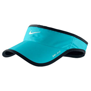 NIKE MENS FEATHERLIGHT TENNIS VISOR BLUE
