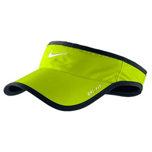 NIKE MENS FEATHERLIGHT TENNIS VISOR GREEN