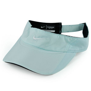 NIKE WOMENS FEATHERLIGHT VISOR TEAL TINT