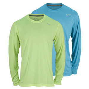 NIKE MENS LEGEND POLY LONG SLVE TRAINING TOP
