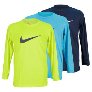 NIKE BOYS LEGEND LONG SLEEVE TRAINGING TOP