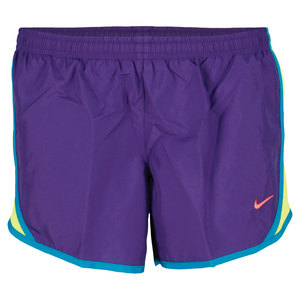 NIKE GIRLS TEMPO RUNNING SHORT PURPLE