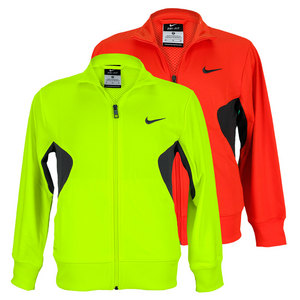 NIKE BOYS DRI FIT KNIT TRAINING JACKET