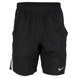 NIKE MENS POWER 9 INCH KNIT SHORT BLACK