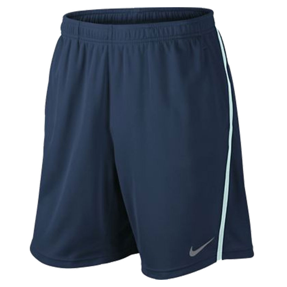 Men's Power 9 Inch Knit Tennis Short Navy And Green