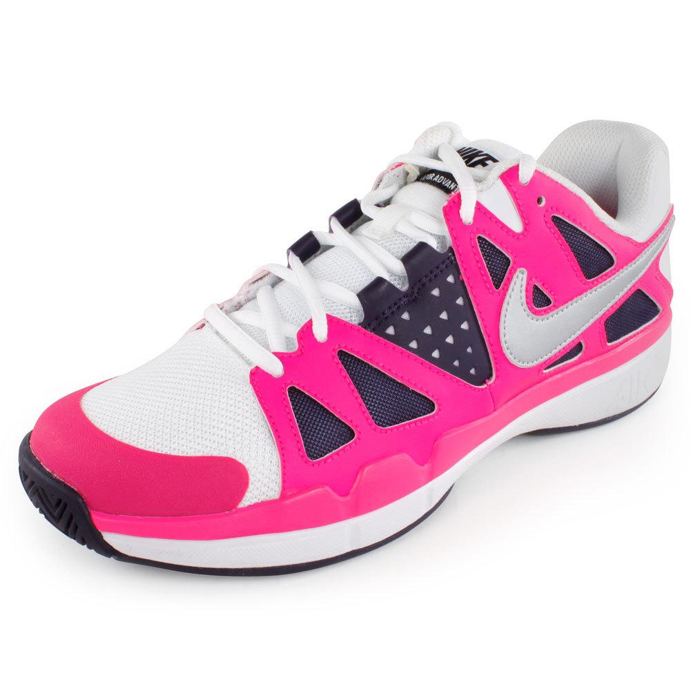 nike air vapor advantage womens tennis shoes 8 599364 105