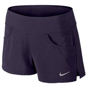 NIKE WOMENS VICTORY TENNIS SHORT PURPLE