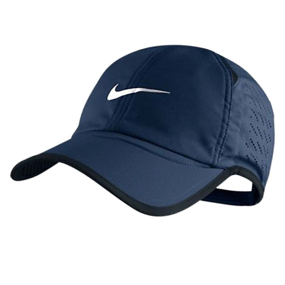 Men's Perforated Featherlight Tennis Cap Navy