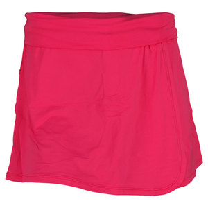 BLOQUV WOMENS TENNIS SKORT PASSION PINK
