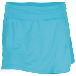 BLOQUV WOMENS TENNIS SKORT LIGHT TURQUOISE