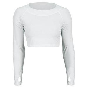 Women`s Tennis Crop Top White