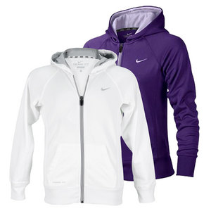 NIKE GIRLS KNOCK OUT FULL ZIP TRAINING HOODIE
