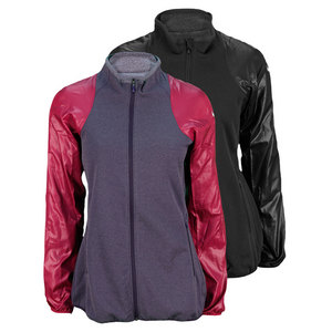 NIKE WOMENS DF THERMA KNIT TENNIS JACKET