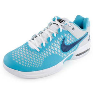 NIKE MENS AIR MAX CAGE SHOES BLUE/GRAY