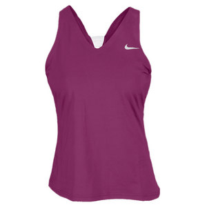 NIKE WOMENS DF V BACK TENNIS TANK
