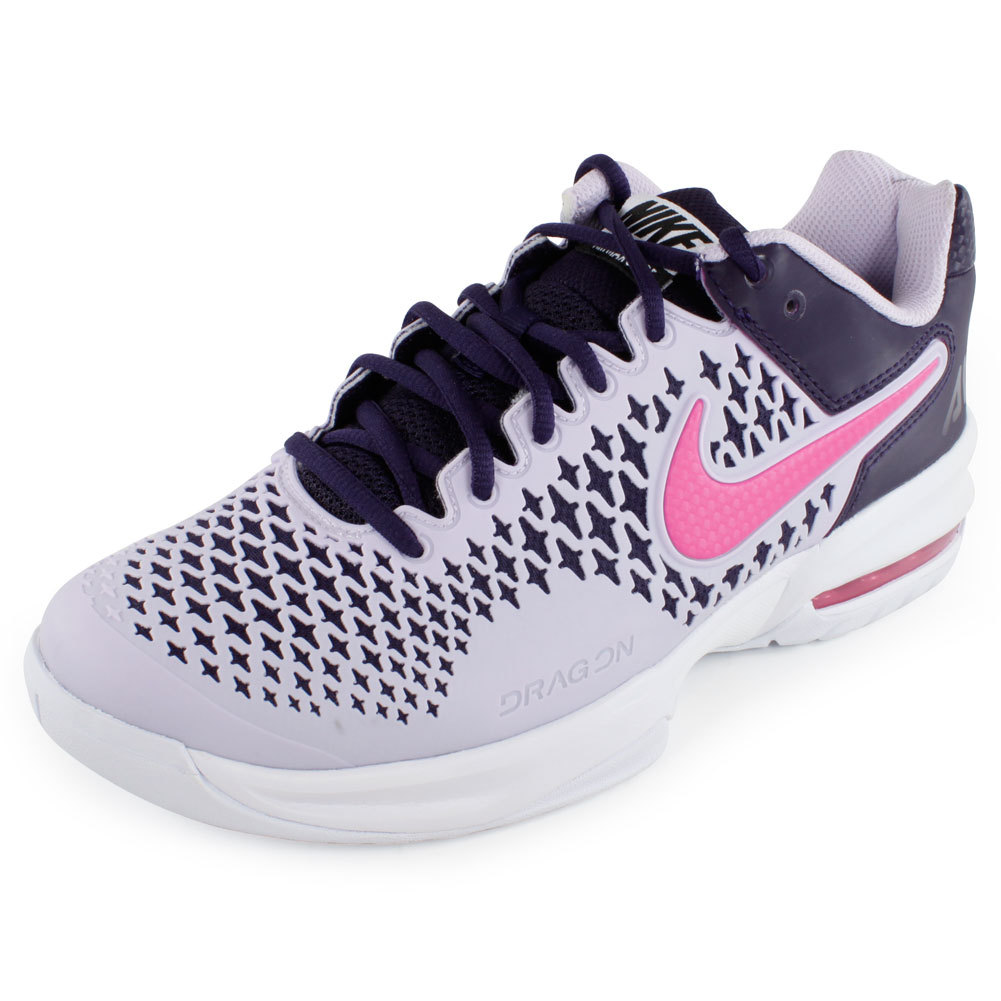 cheaper de6b7 bcc75 Nike Women s Air Max Cage Tennis Shoes Purple