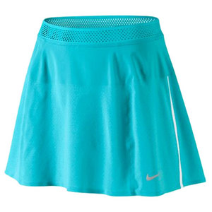 NIKE WOMENS PREMIER MARIA TENNIS SKIRT BLUE