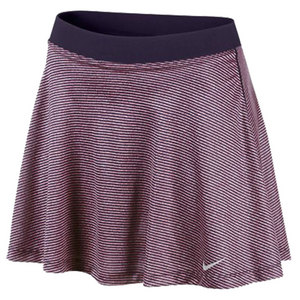 NIKE WOMENS DF HIGH WAISTED KNIT SKIRT PURPLE
