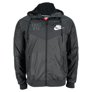 NIKE MENS NYC TENNIS WINDRUNNER ANTHRACITE
