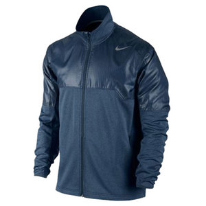 NIKE MENS THERMAFIT TENNIS JACKET NAVY