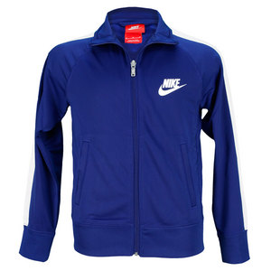 NIKE BOYS FUTURA TRICOT JACKET ROYAL