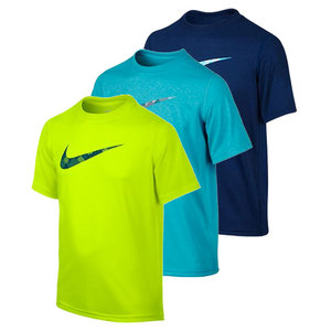 NIKE BOYS LEGEND GRAPHIC SHORT SLEEVE TEE