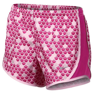 NIKE GIRLS GFX TEMPO RUNNING SHORT PINK