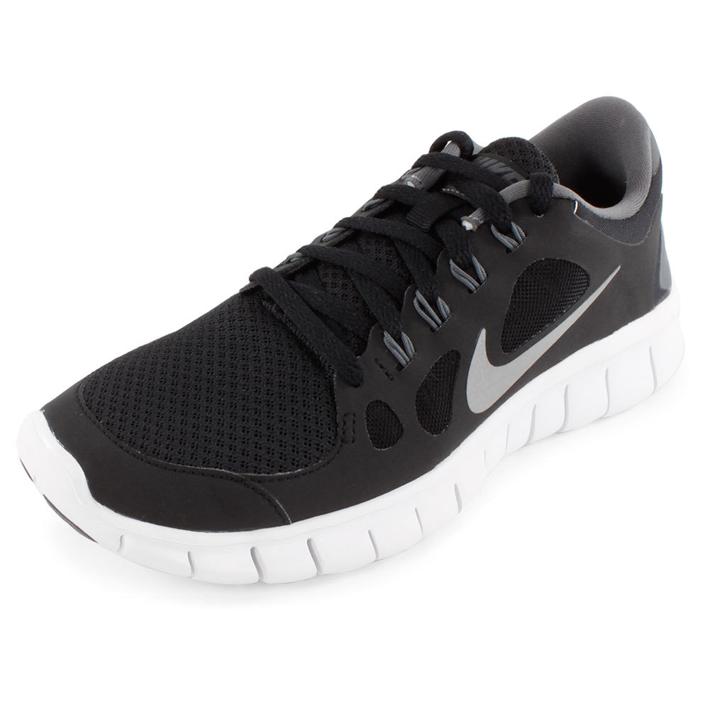 Boys ` Free 5.0 Running Shoes Black And Gray