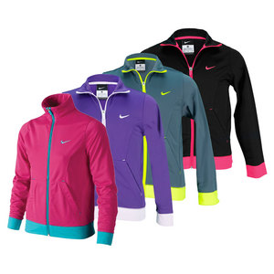 NIKE GIRLS PERFORMANCE KNIT TRAINING JACKET