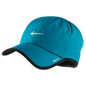 NIKE MENS FEATHERLIGHT TENNIS CAP TURQUOISE