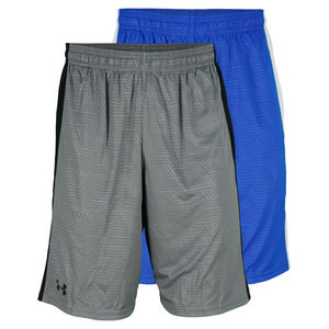 UNDER ARMOUR MENS MICRO PRINT TRAINING SHORT