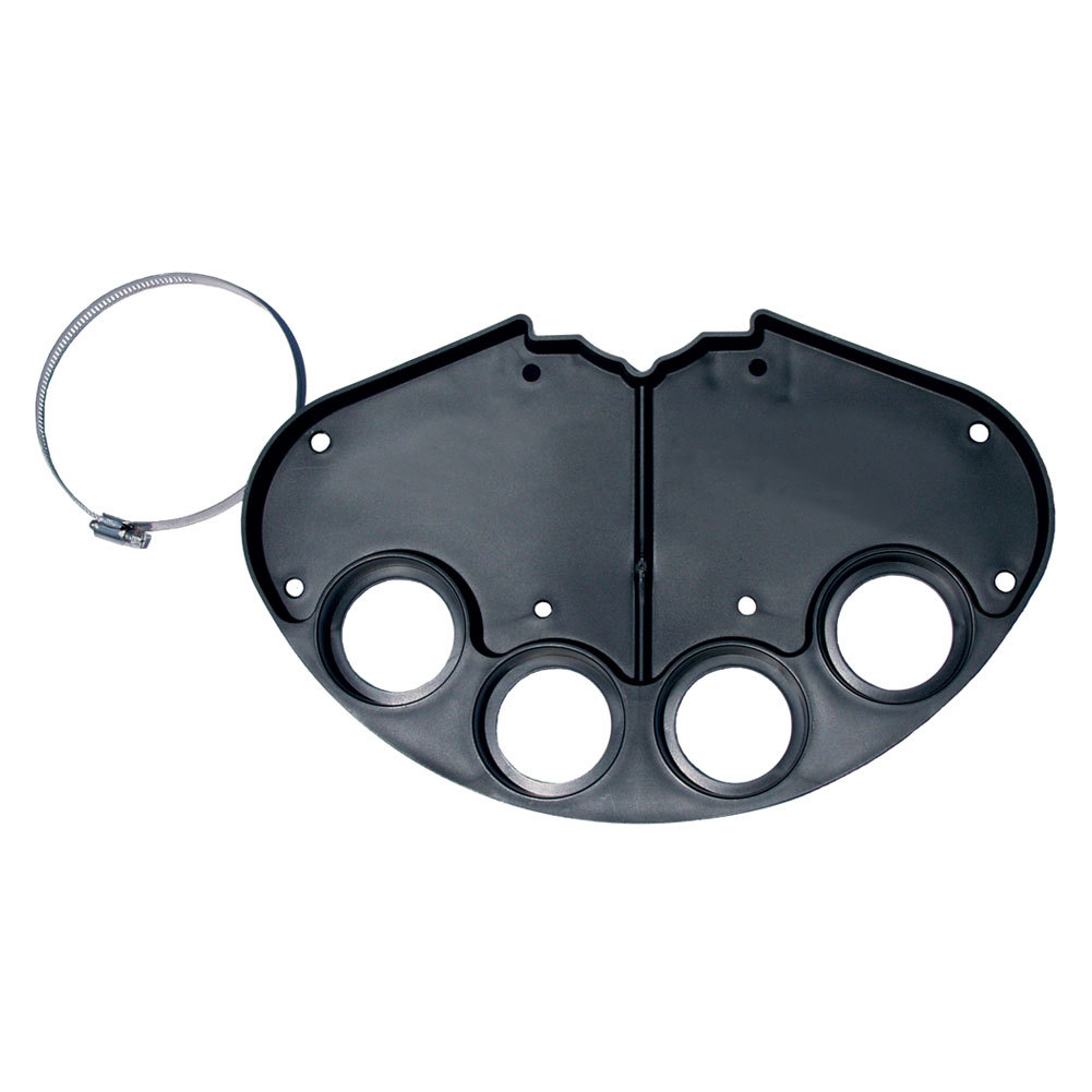 Tennis Court Tray Black