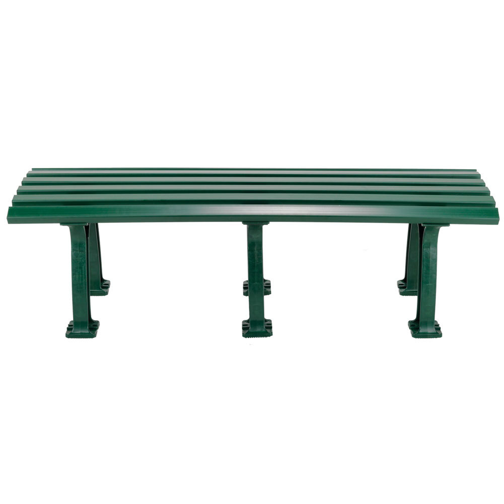 Tennis Mid Court Bench 5 Feet Green