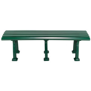 TOURNA TENNIS MID COURT BENCH 5 FEET GREEN