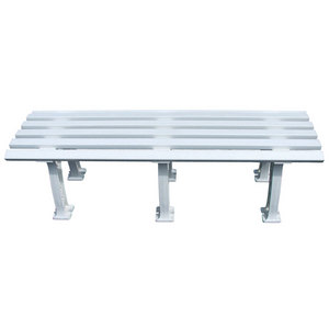 TOURNA TENNIS MID COURT BENCH 5 FEET WHITE