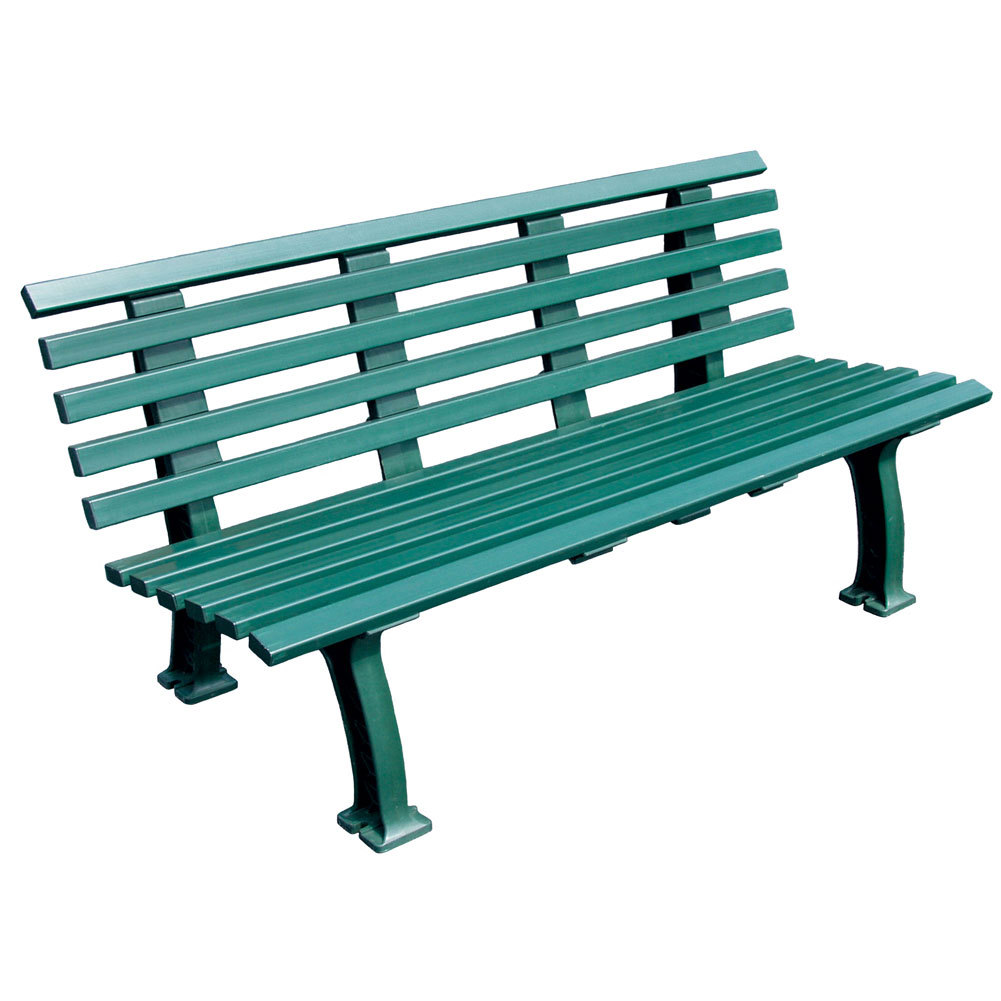 tourna tennis court bench 5 feet green