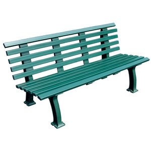 Tennis Court Bench 5 Feet Green