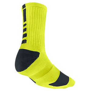 NIKE MENS ELITE BASKETBALL CREW SOCKS LARGE