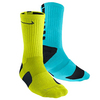 Men`s Elite Basketball Crew Socks XL 12-15 by NIKE