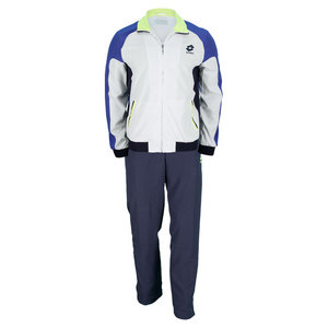 LOTTO MENS MATRIX TENNIS SUIT SET WHITE/NAVY