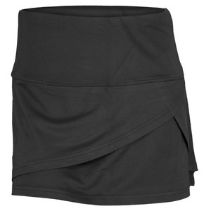 BOLLE WOMENS COSMIC GLOW TENNIS SKORT BLACK