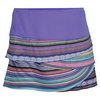 Women`s Navajo Scallop Tennis Skirt Print by LUCKY IN LOVE