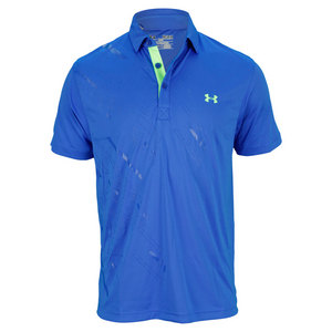 UNDER ARMOUR MENS GRAPHIC ENERGY TRAIN POLO MOON SHAD