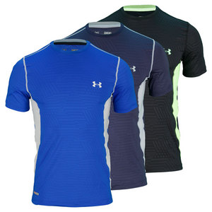 UNDER ARMOUR MENS HEATGEAR SONIC FIT PRINTD TRAIN TEE